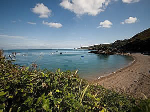 Bouley Bay is nearby