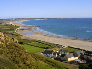 St Ouen's Bay is a short drive away