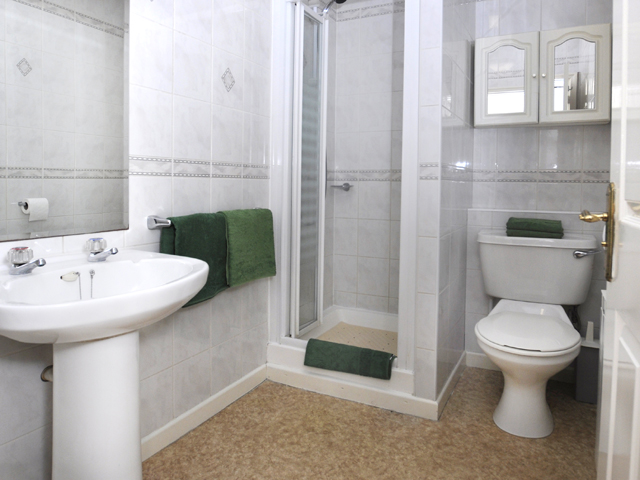 Shower room - apartments with bathrooms are alo offered