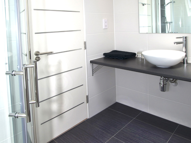 Each first floor bedroom has its own ensuite shower room
