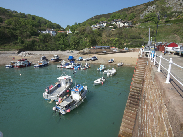 Bonne Nuit Bay is nearby and has a harbour and a small sandy beach
