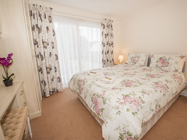 One of two double bedrooms which can also be made up as a twin with 2 single beds