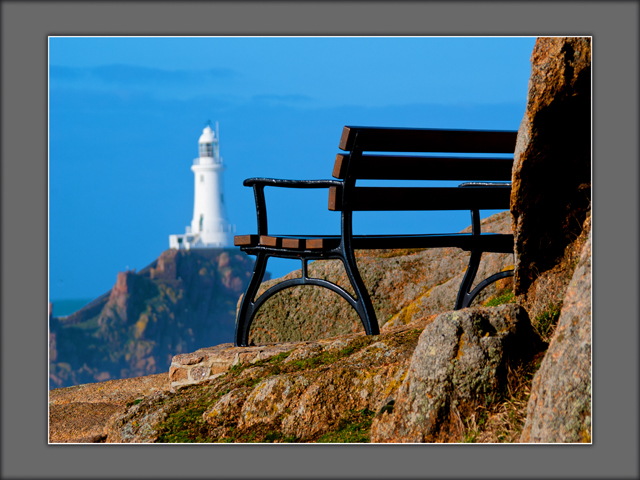 View of Corbiere Lighthouse