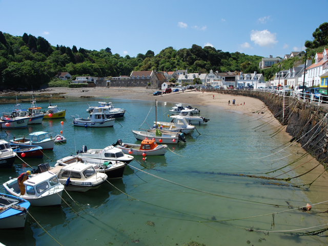 Pretty little harbour at Gorey