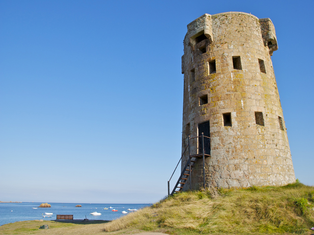 Martello Tower at Le Hocq, Jersey