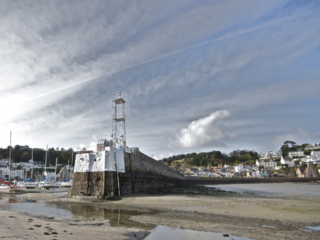 Jersey view - harbour at St Aubin