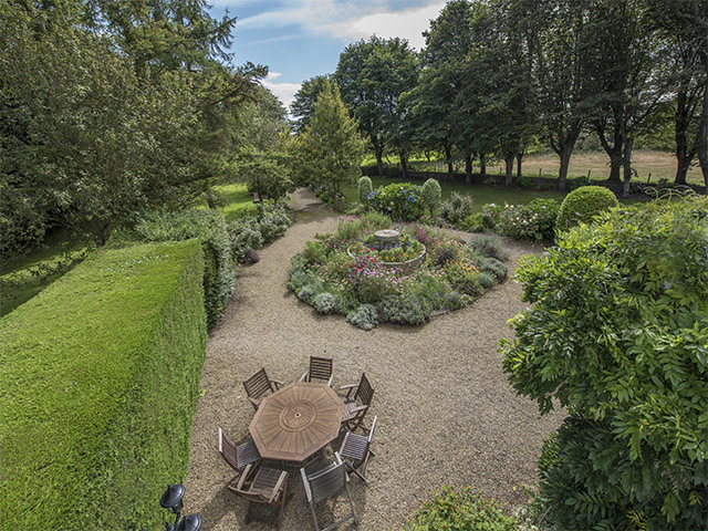 View of the garden from Brabant House