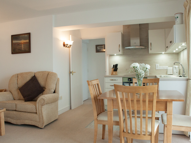 Open plan Lounge, Kitchen and Dining area