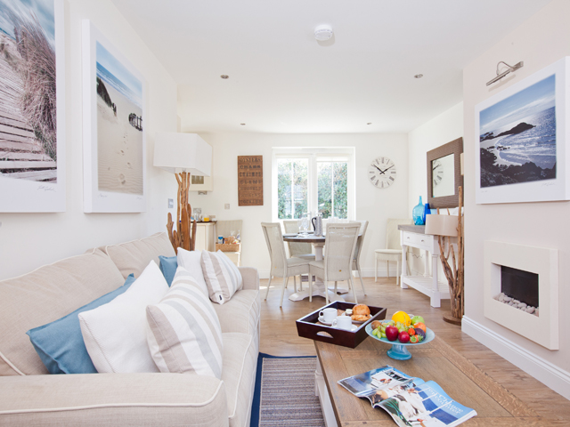 Lounge style throughout all La Place Holiday Cottages
