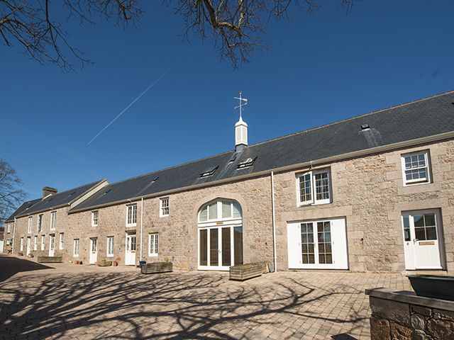 Exterior view of the Le Hurel Holiday Cottages