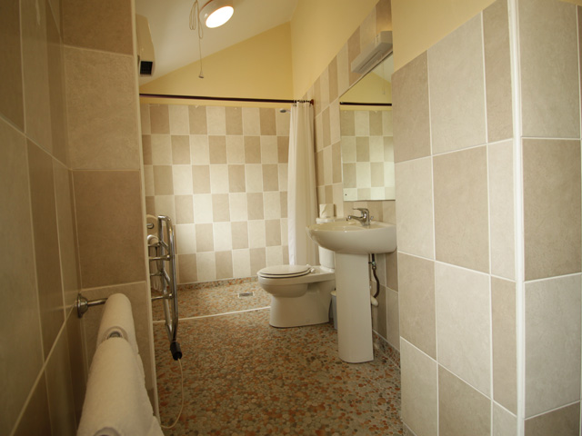 Shower room with Basin and Toilet