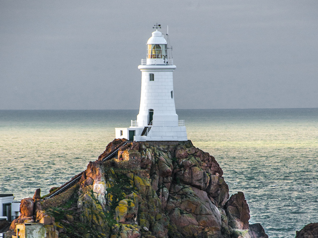 Jersey scenes - Corbiere Lighthouse