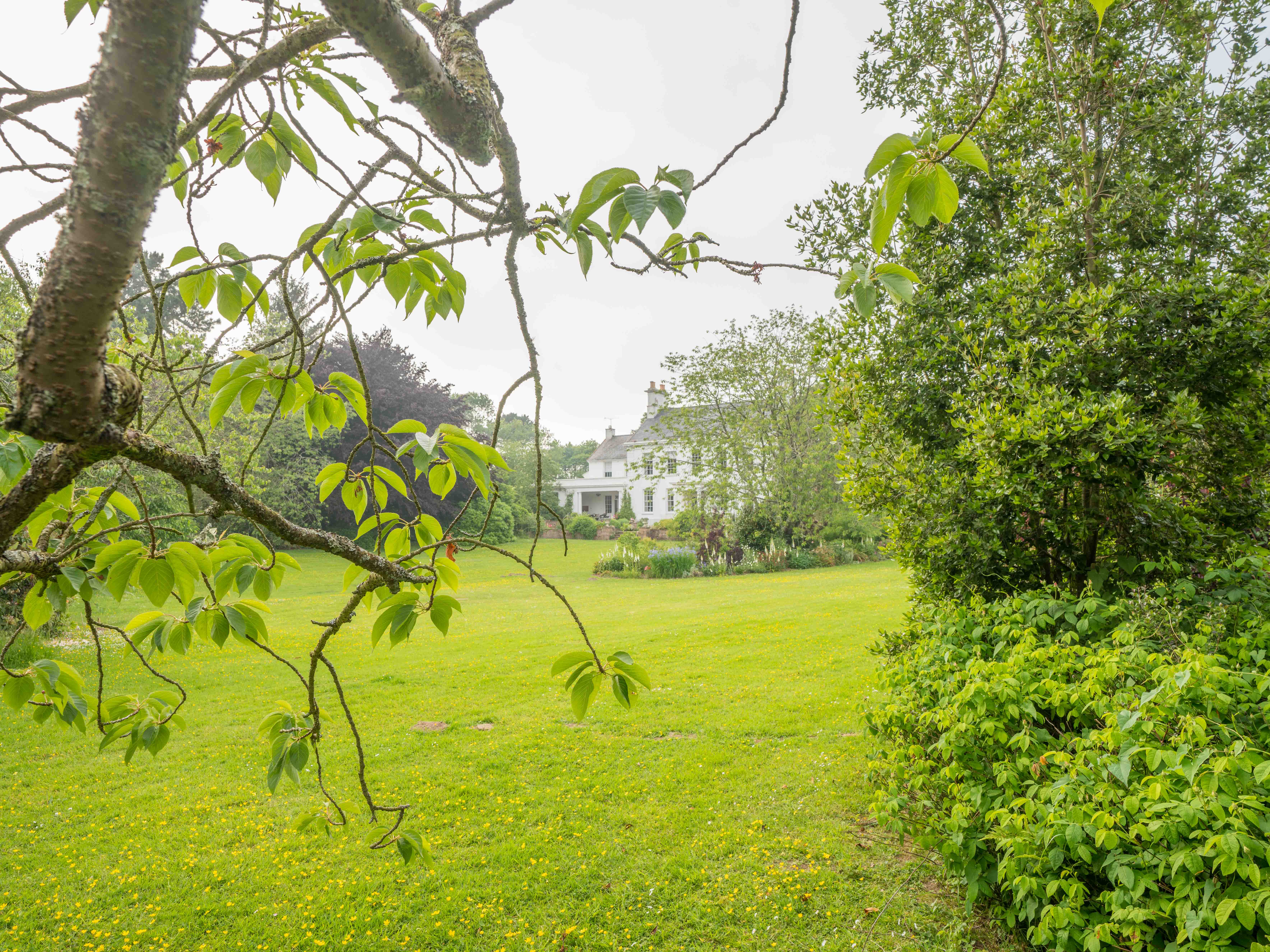 The extensive gardens surrounding the owners property are available to explore