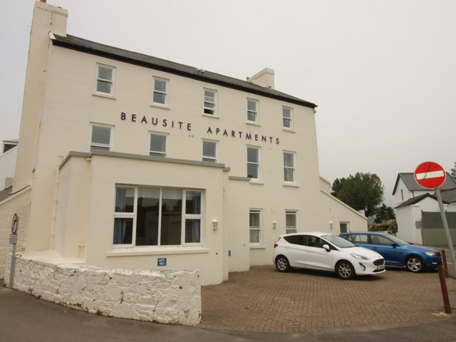 The Beausite Apartments are at the rear of the hotel with their own parking.
