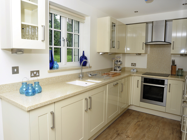 Kitchens in all of the cottages are finished to a high standard and are well equipped