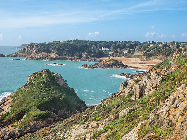 A Jersey view - Portelet Bay