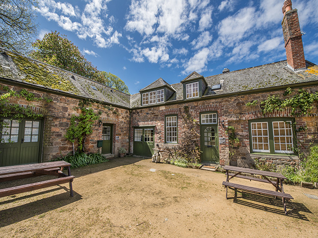 The Forge beside the Coach House Freedom Holidays Jersey self catering