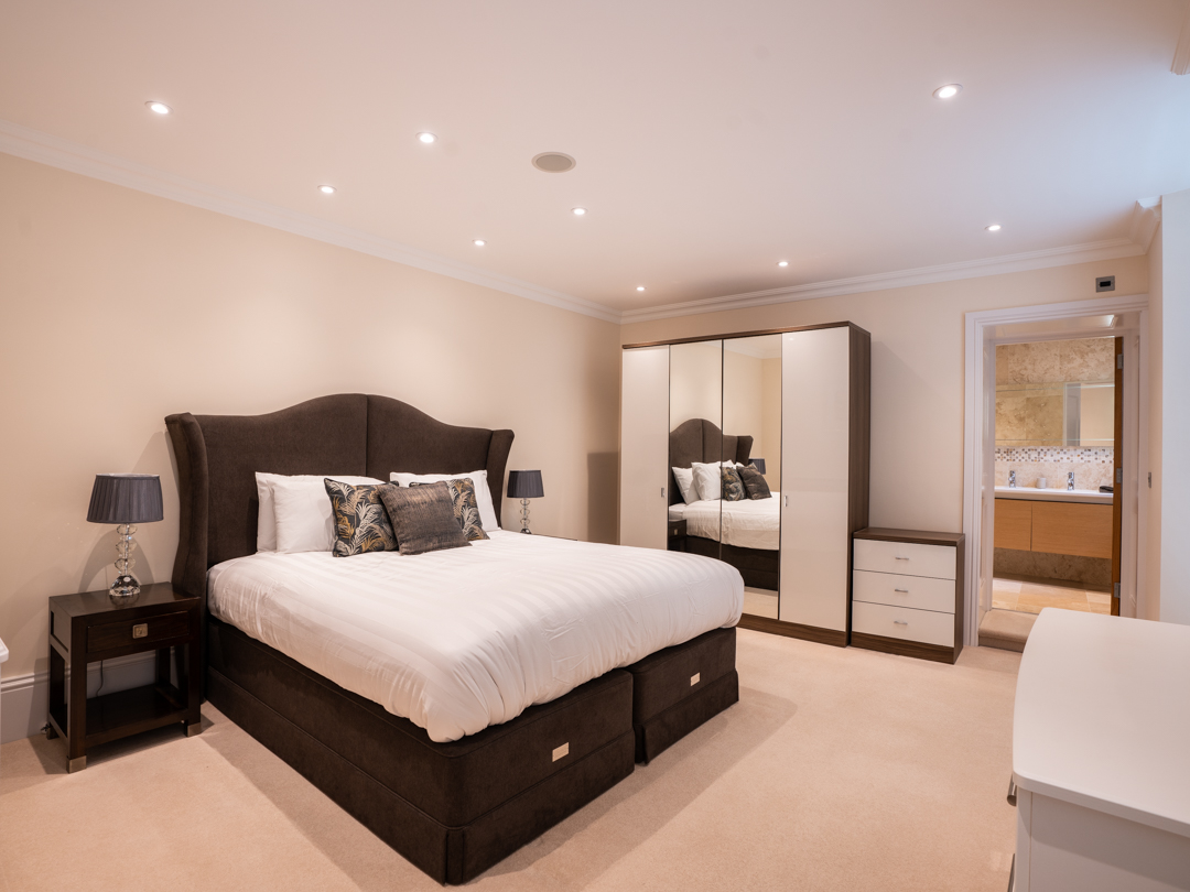 Master bedroom with Superking Size bed and ensuite