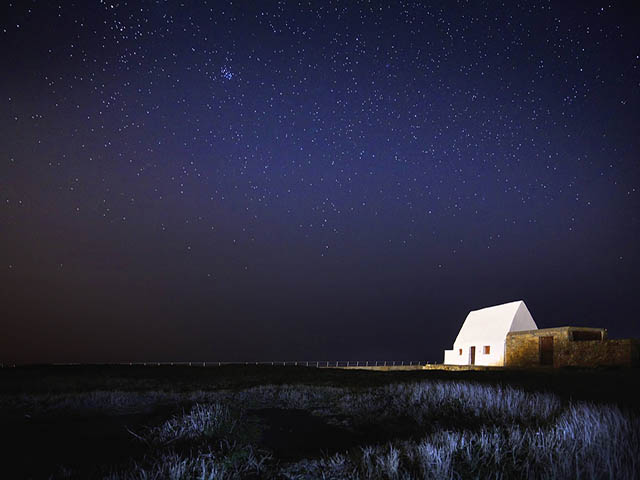Escape to Jersey ... walk in the moonlight under the stars this winter