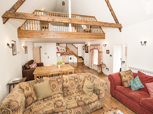 Over view of the interior of Apple Tree Cottage