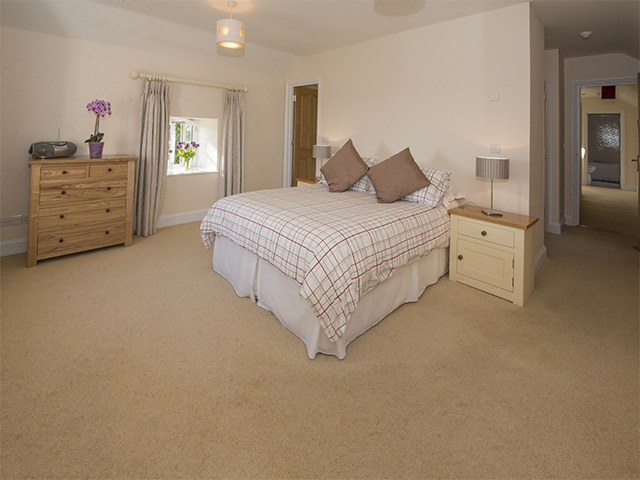 Master bedroom with ensuite shower room