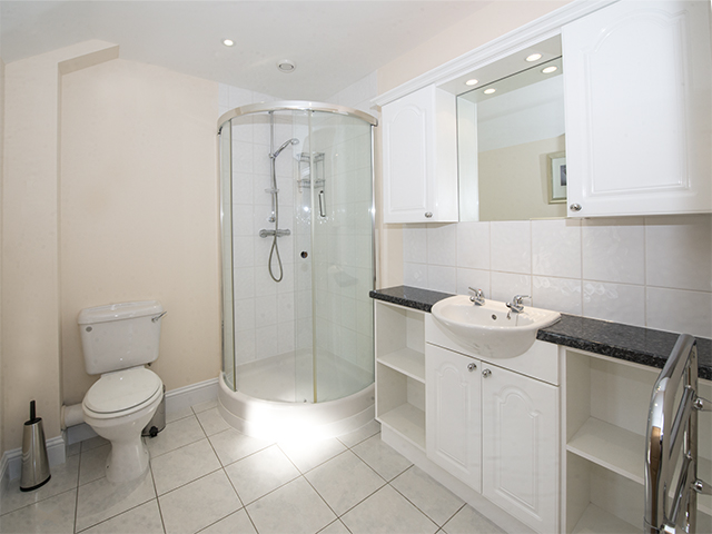 Shower room ensuite with master bedroom